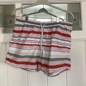 NWOT Lacoste swim shorts